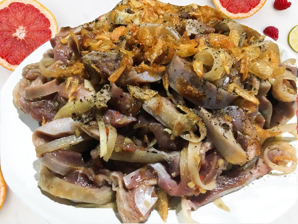 Thị gà nòi ( Nguyên liệu chính của món ăn )