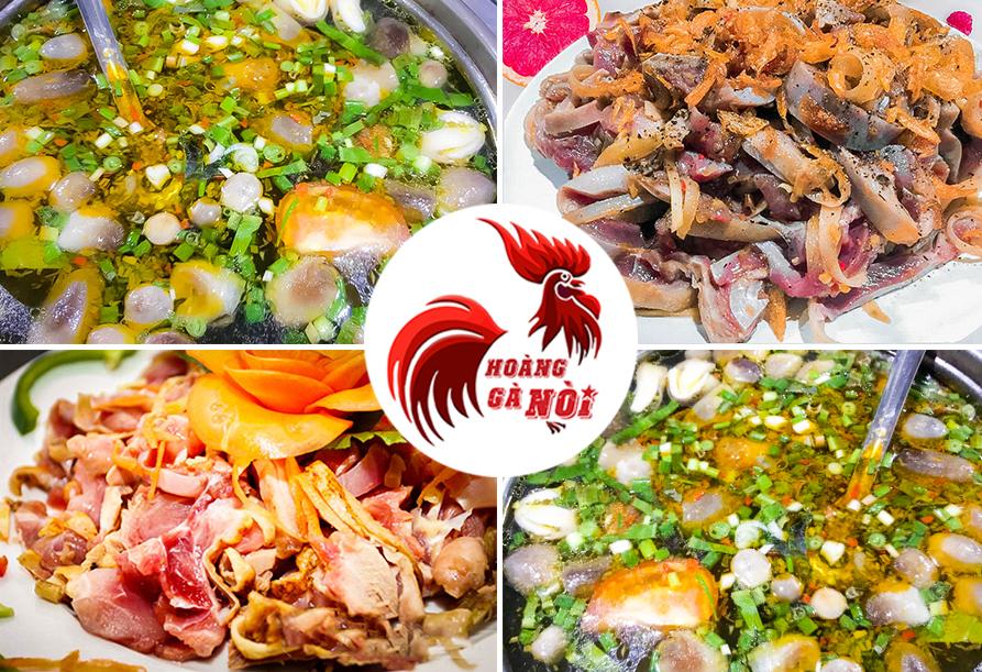 Các món ăn ở Hoàng Gà Nòi