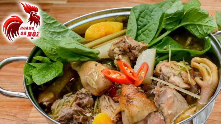 Lẩu gà hầm sả ( món ngon trong những ngày mưa, nhất là thời thiết ở Hóc Môn hay Sài Gòn nói chung rất hay mưa )
